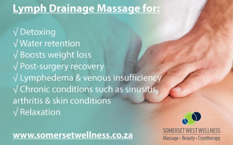 Lymph Drainage Massage Benefits
